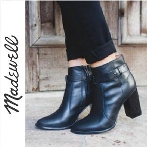 { Madewell } Gore Strap Ankle Boots